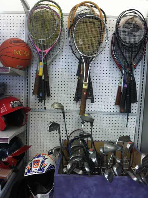 Sporting Goods Equipment ~ Goodwill thrift stores shop at and support your