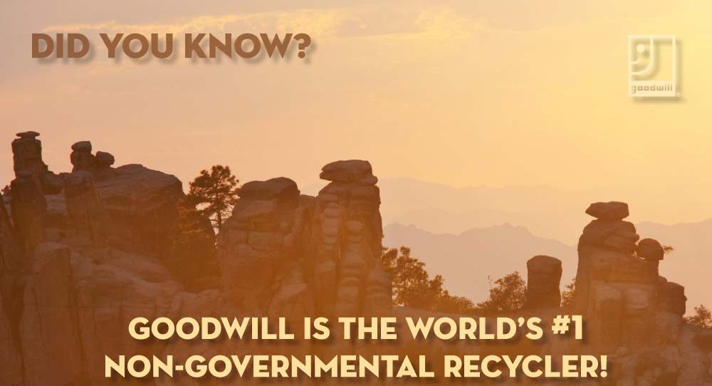 Recycle at Goodwill | Goodwill