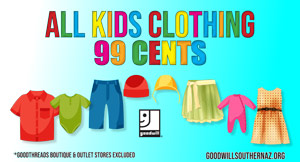 Thrift Store Kids Clothes